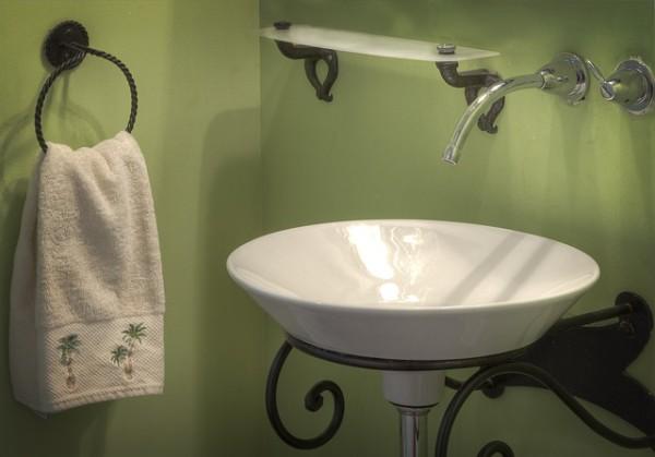 Umývadlo je důležitou součástí koupelny