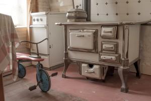 bílá v kuchyni